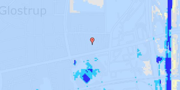 Ekstrem regn på Dalvangsvej 21, 2. tv