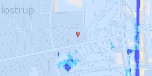 Ekstrem regn på Dalvangsvej 33, 2. tv