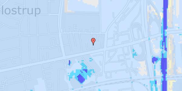 Ekstrem regn på Dalvangsvej 35, 2. tv