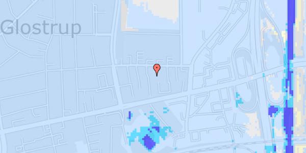 Ekstrem regn på Dalvangsvej 43, 1. tv