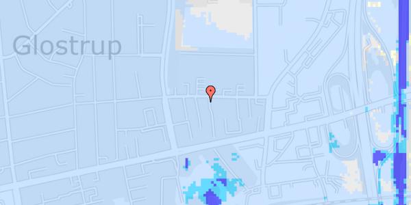 Ekstrem regn på Dalvangsvej 47, 1. tv