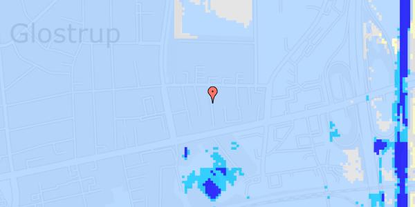 Ekstrem regn på Dalvangsvej 53, st. tv