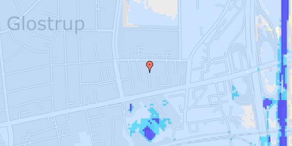 Ekstrem regn på Dalvangsvej 53, 1. th