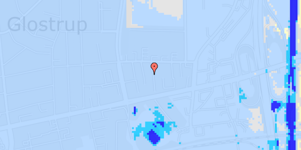 Ekstrem regn på Dalvangsvej 53, 1. tv