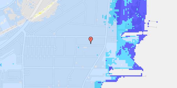 Ekstrem regn på Ankermandsvej 11