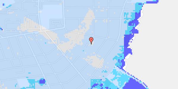 Ekstrem regn på Bavnevej 43