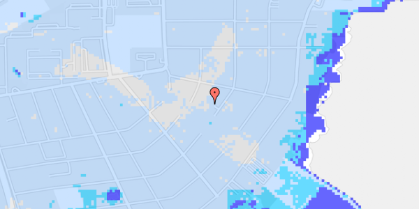 Ekstrem regn på Bavnevej 60