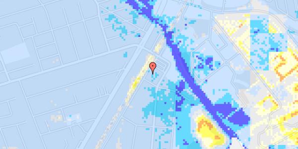 Ekstrem regn på Beringgårdsvej 1B