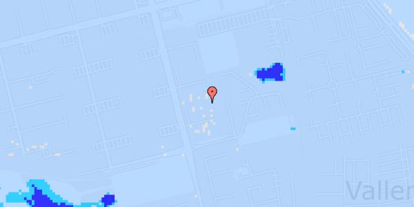 Ekstrem regn på Albertslundvej 111, 2. mf