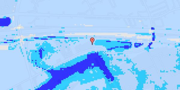 Ekstrem regn på Brøndbyvej 154