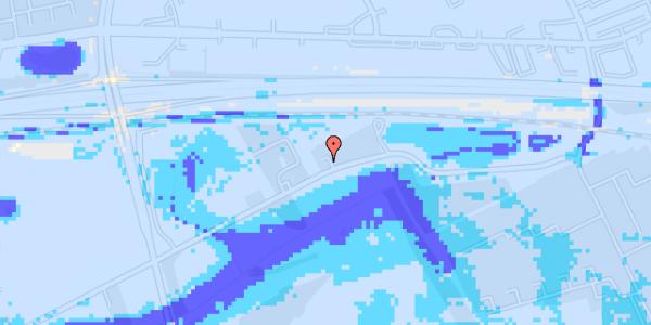Ekstrem regn på Brøndbyvej 158