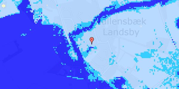 Ekstrem regn på Engvej 8
