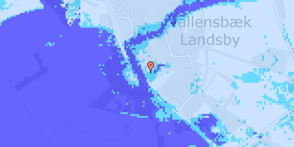 Ekstrem regn på Engvej 9D