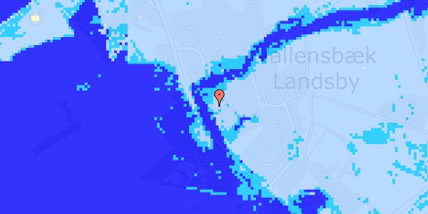 Ekstrem regn på Engvej 22