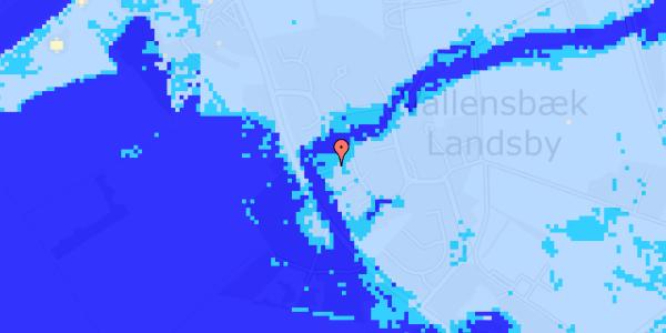 Ekstrem regn på Engvej 24