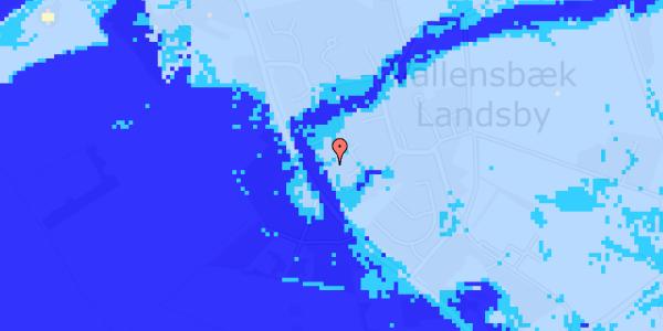 Ekstrem regn på Engvej 25