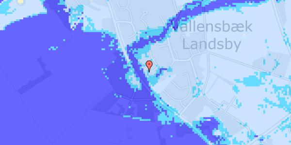 Ekstrem regn på Engvej 27