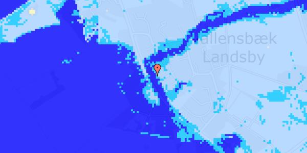 Ekstrem regn på Engvej 36