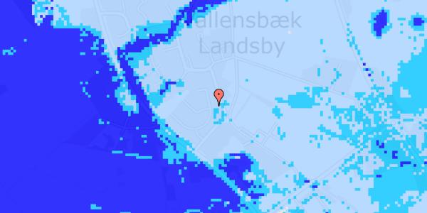Ekstrem regn på Møllestensvej 10