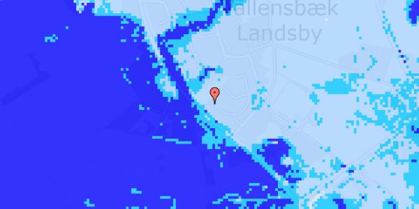 Ekstrem regn på Møllestensvej 11