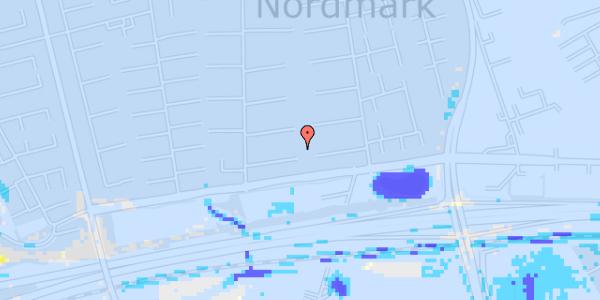 Ekstrem regn på Nørrebred 16