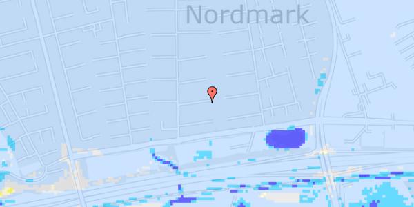 Ekstrem regn på Nørrebred 54