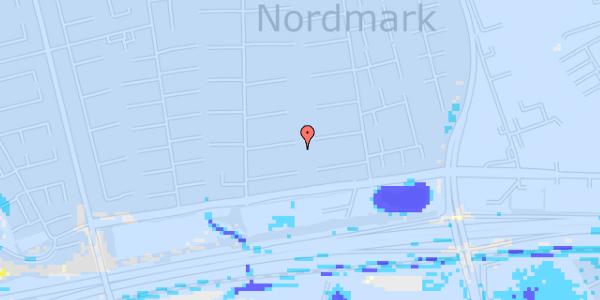 Ekstrem regn på Nørrebred 56