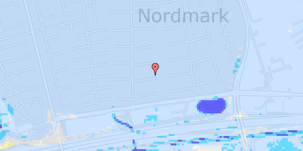 Ekstrem regn på Nørrebred 62