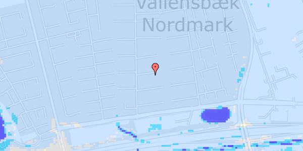 Ekstrem regn på Nørrebred 78