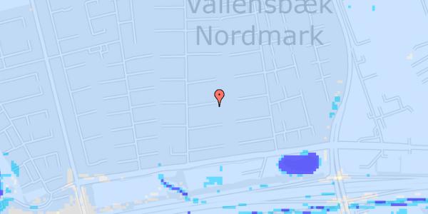 Ekstrem regn på Nørrebred 80
