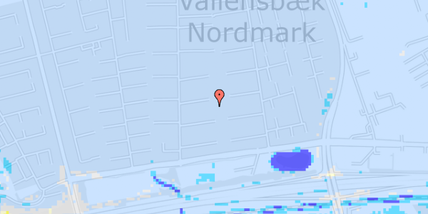 Ekstrem regn på Nørrebred 82