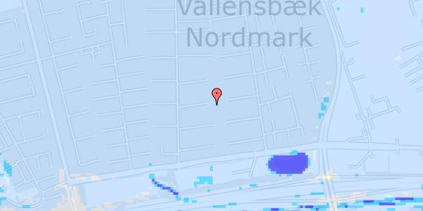 Ekstrem regn på Nørrebred 84