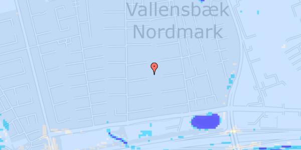 Ekstrem regn på Nørrebred 86