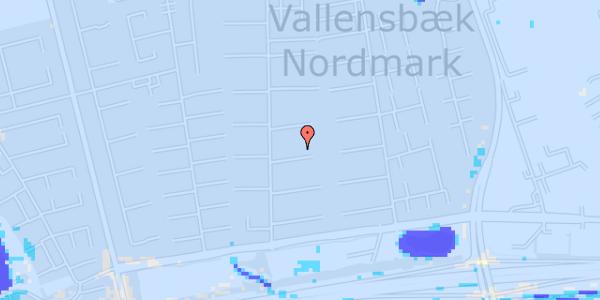Ekstrem regn på Nørrebred 92