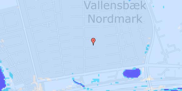 Ekstrem regn på Nørrebred 94