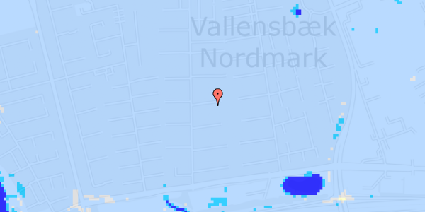 Ekstrem regn på Nørrebred 106