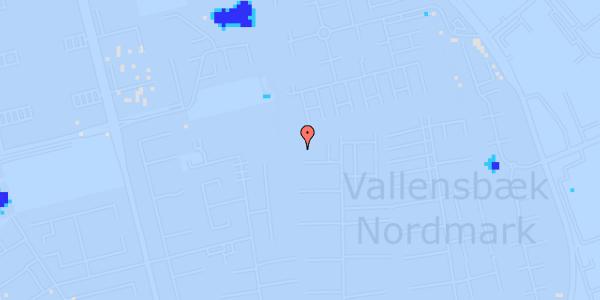 Ekstrem regn på Nørrebred 143