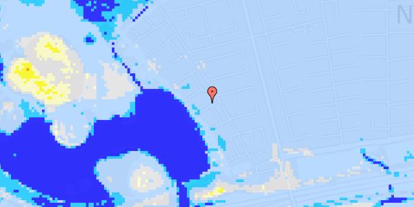 Ekstrem regn på Rendsagervej 93