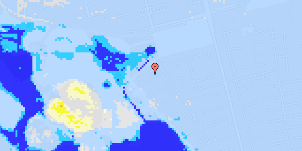 Ekstrem regn på Rendsagervej 265