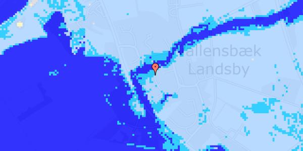 Ekstrem regn på Ved Bækken 3