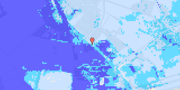 Ekstrem regn på Vejlegårdsvej 89