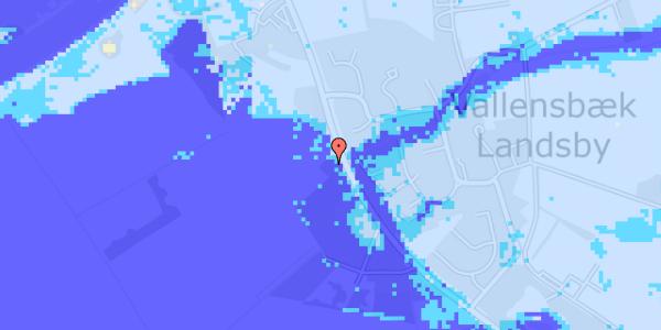 Ekstrem regn på Vejlegårdsvej 113