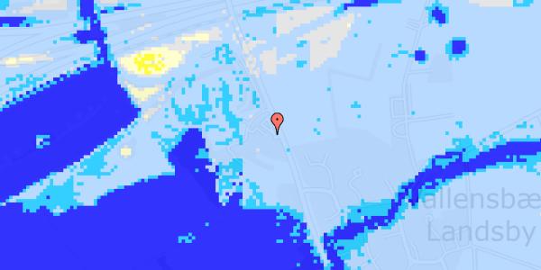 Ekstrem regn på Vejlegårdsvej 123, 1. th