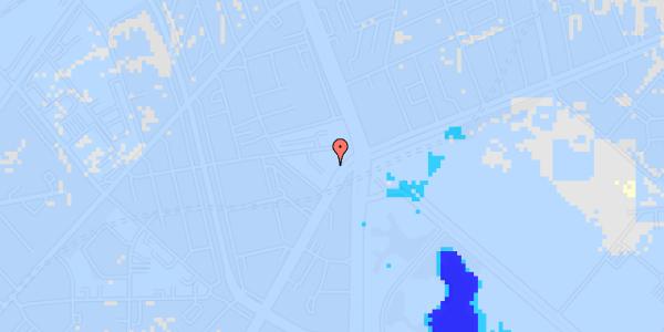 Ekstrem regn på Jagtvej 171A, 3. th