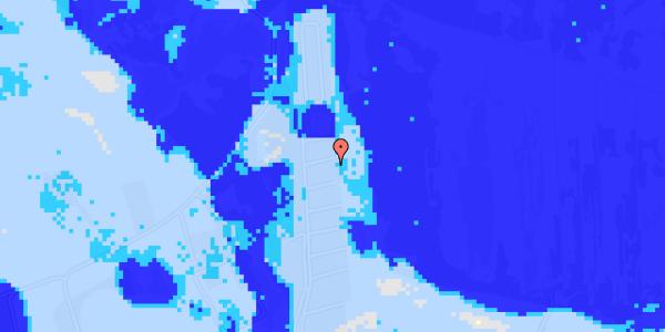 Ekstrem regn på Solager 104