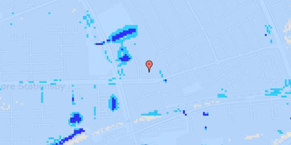 Ekstrem regn på Mellemvangsvej 6, 1. tv