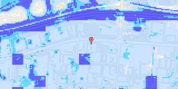 Ekstrem regn på Stamholmen 140B, st. 3