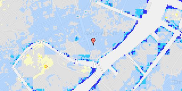 Ekstrem regn på Niels Juels Gade 5