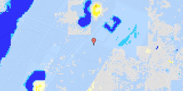 Ekstrem regn på Rosenborggade 17, 1.