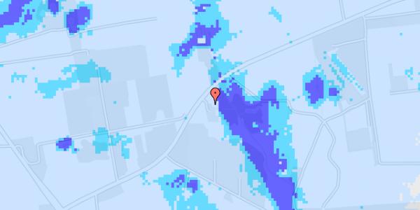 Ekstrem regn på Snubbekorsvej 20C